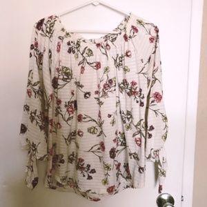 Ralph Lauren Boho Floral Top